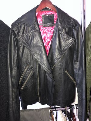 Barneys North Motorcycle Biker Jacket Medium THE PERFECT STYLE!! for Sale in Herndon, VA