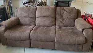 3-seat recliner sofas!! for Sale in Nuevo, CA