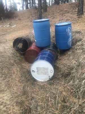 50 gallon drums for Sale in Spokane, WA