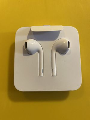 Brand New Original Apple iPhone Earphones Lightning connector Adapter for Sale in Santa Ana, CA