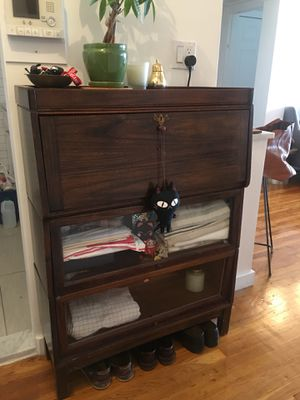 Antique secretary desk barrister set for Sale in Brooklyn, NY