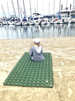 Two person inflatable camping sleeping pad for Sale in Chino, CA
