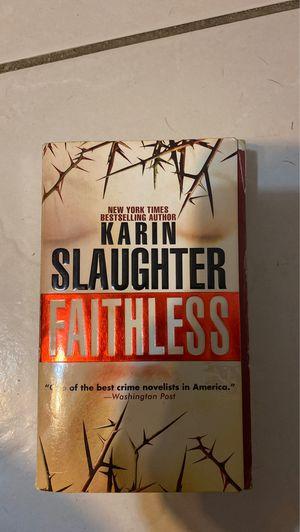 Karin slaughter faithless for Sale in Miami, FL