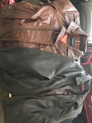Men's Leather Jackets Size M for Sale in San Diego, CA