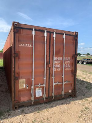 40' Standard TRITON Storage Container for Sale in Waller, TX