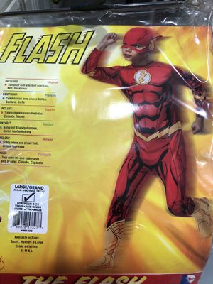 FLASH Kids Costume for Sale in Coquille, OR