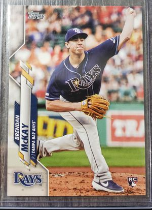 Brendan McKay Tampa Bay rays Rookie card for Sale in Cicero, IL