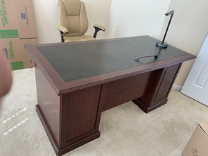 Office desk with drawers for Sale in Bristow, VA