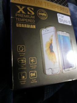 Stylo 6 Hardened glass Screen protectors $9 Each 2 For $15 for Sale in San Angelo, TX
