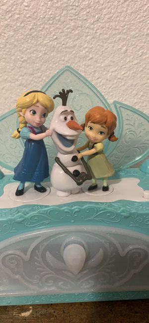 Disney . Do u wanna build a snow man . Jewelry box for Sale in Irving, TX