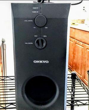 Onkyo skw-30 60 watt subwoofer for Sale in Scottsdale, AZ