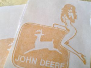 John Deere Girl Decal for Sale in Virginia Beach, VA