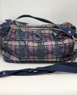 COACH PLAID CONVENTIONAL HOBO BAG for Sale in Orlando, FL