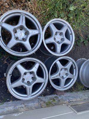 Zr1 wheels 17x11 c4 grand sport oem for Sale in Hayward, CA