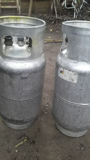2 propane bottles forklift equipment for Sale in Federal Way, WA