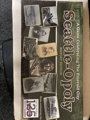 Seattle opoly board game (NIB) for Sale in Lynnwood, WA