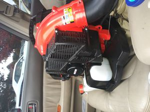 Almost new echo pb 580t backpack blower for Sale in Seattle, WA