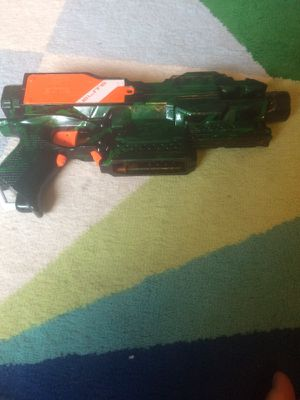 Highly modified Nerf gun for Sale in Concord, MA