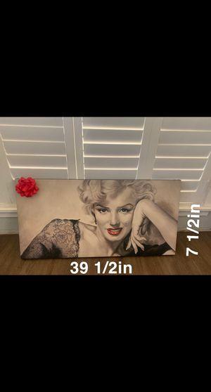 Marilyn Monroe Canvas for Sale in Norwalk, CA