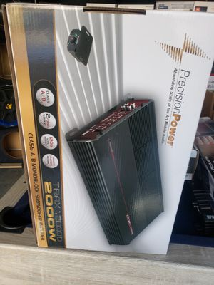 2000 watts 1 channel amp for Sale in Los Angeles, CA