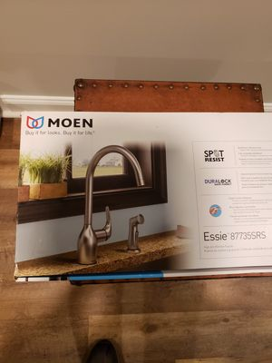 Moen Essie 87735SRS Stainless One-Handle High Arc Kitchen Faucet for Sale in Hightstown, NJ