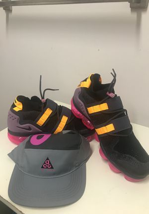 Nike Nike Air VAPORMAX FK UTILITY/w carrying bag (ACG COLORWAY) and Nike ACG RARE COLORWAY CAP for Sale in Washington, DC