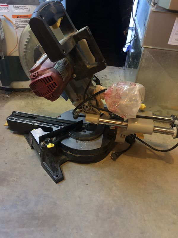 "Chicago Electric Power Tools 10"" Sliding Compound Miter Saw"