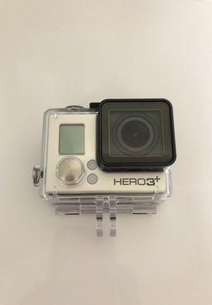 GoPro hero 3+ With water proof case and head strap. for Sale in Springfield, OR