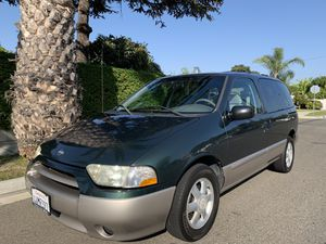 2002 Nissan Quest GXE Rare Mini Van with this Conditions Smog Check Done today Pass with no problems Has 155k original miles One owner Mini Van for Sale in Huntington Beach, CA