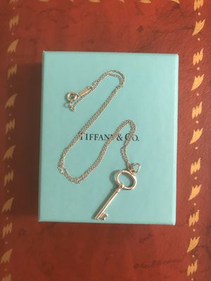Tiffany & Co. Key Necklace for Sale in Tempe, AZ