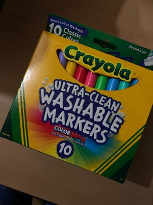 Crayola washable markers for Sale in Joliet, IL