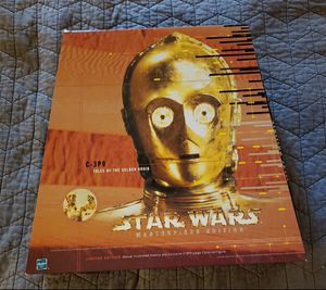 C-3PO tales of the Golden Droid Star Wars Masterpiece Edition Book and Doll/Action Figure open box new for Sale in Wellington, FL