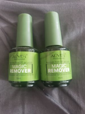 2 Gel Polish Removers & Clear Base/Top Nail Polishes for Sale in Menifee, CA