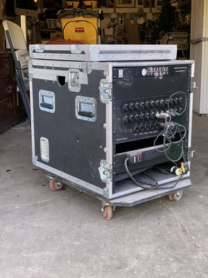 XLR audio snake box on dolly for Sale in Raleigh, NC