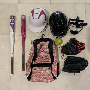 Softball gear lot for Sale in Laguna Niguel, CA