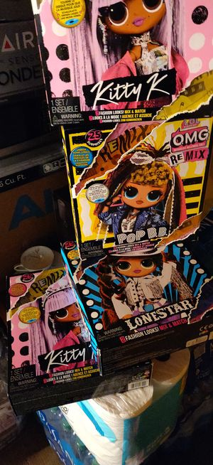 4 Lol surprise dolls omg remix for Sale in Montebello, CA