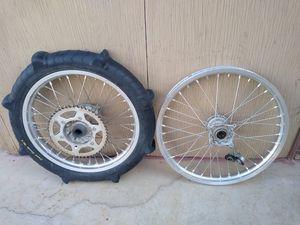 Suzuki RMZ wheel set for Sale in Phoenix, AZ