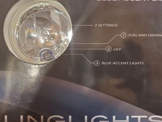 """BlingLights BL300w 3.5"""" Round Xenon Halogen Fog Lamps Driving Lights Kit for Sale in Mercer Island,  WA"""
