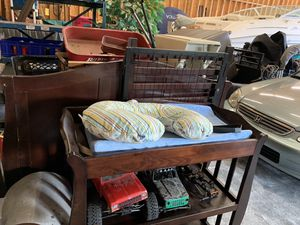 Changing table and crib for Sale in Stanwood, WA