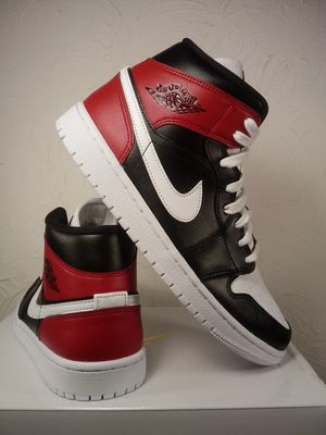 Air Jordan 1 Mid Retro Black & Red women's Size 9.5 for Sale in Los Angeles, CA