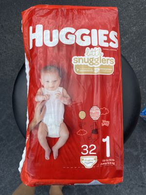 Huggies diapers size 1 for Sale in Hialeah, FL