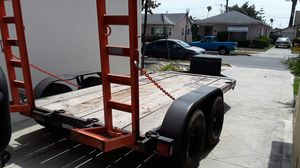 Trailer bobcat equipment flatbed 9995 lbs legal for Sale in El Monte, CA