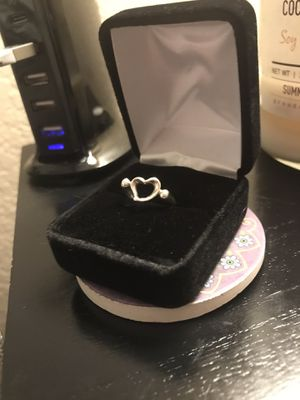 925 Vintage Tiffany and Co Elsa Peretti heart ring for Sale in Tulsa, OK