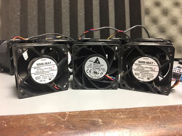 LOT of Computer Cooling Fans