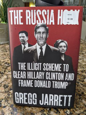 The Russian Hoax by Gregg Jarrett book for Sale in Santee, CA