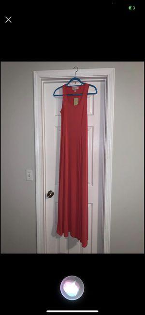 Michael kors maxi dress pink for Sale in Kingsland, GA