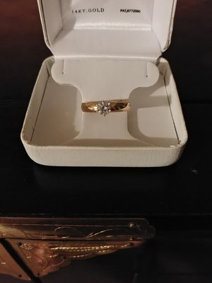 Diamond solitaire engagement ring for Sale in Phoenix, AZ