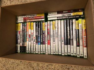 2 Xbox 360's + 3 Controllers + Lot of games for Sale in Waterford, VA