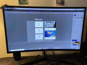 Samsung 27' inch curved gaming monitor for Sale in San Antonio, TX