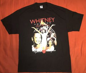 Rare Whitney House Rest In Piece Memorial T-shirt Mens Sz XL New Double Sided for Sale in Lynwood, CA